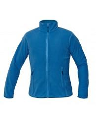 GOMTI női polár kabát világos kék