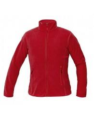 GOMTI női polár kabát piros