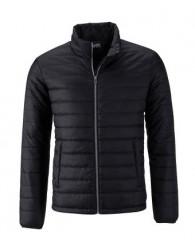 James & Nicholson fekete színű Férfi bélelt dzseki