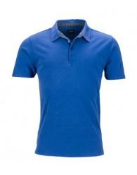 James & Nicholson Férfi Kék galléros póló