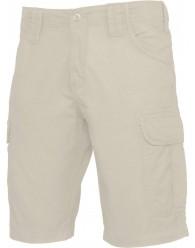 FÉRFI Bézs színű Bermuda nadrág