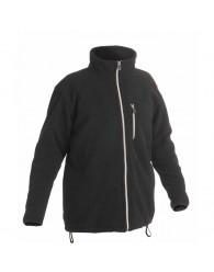 KARELA polár kabát fekete