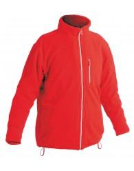 KARELA polár kabát piros