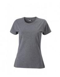 James & Nicholson Szürke színű Női Slim Fit póló