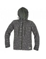 LUTTON softshell kabát fekete