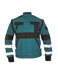 MAX REFLEX kabát zöld/fekete