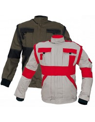 MAX kabát 260 g/m2 barna/fekete