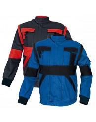 MAX kabát 260 g/m2 kék/fekete