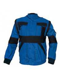 MAX kabát 260 g/m2 navy/royal