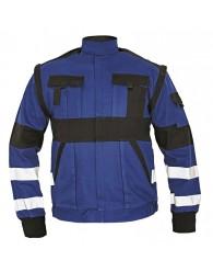 MAX REFLEX kabát kék/fekete