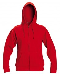 NAGAR kapucnis pulóver piros