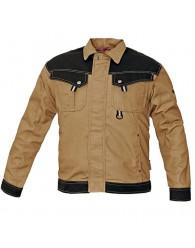 NARELLAN kabát bézs/fekete