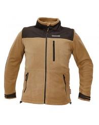 NARELLAN fleece kabát bézs