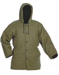 NORMA bélelt kabát zöld
