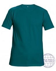 TEESTA trikó petrol kék