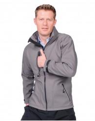 PULCO softshell kabát szürke