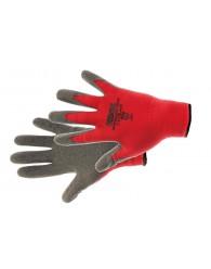 ROCKING RED kesztyű nylon latex piros