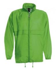 B&C Széldzseki zöld