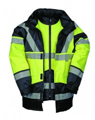SKOLLFIELD kabát 4x1 sárga