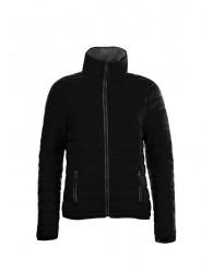 Női vékony dzseki fekete színű