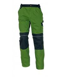 STANMORE derekas nadrág zöld/fekete