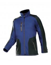 TORREON softshell kabát kék/fekete
