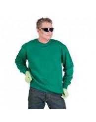 TOURS pulóver üveg zöld
