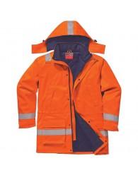 TUNK AS+FR téli kabát narancssárga