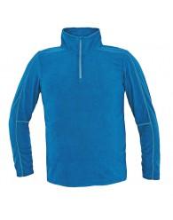 WELBURN polár pulóver kék