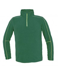 WELBURN polár pulóver zöld