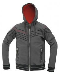 WINTON kapucnis pulóver szürke