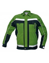 STANMORE kabát zöld/fekete